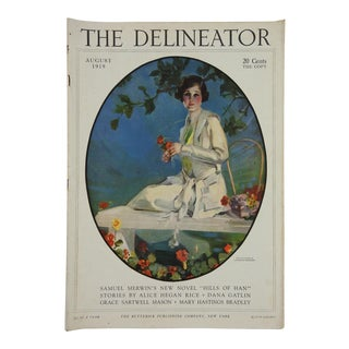 Antique 1919 Delineator Fashion Magazine
