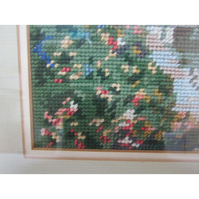Oriental Asian Teahouse on the Lake Needlepoint - Image 4 of 11