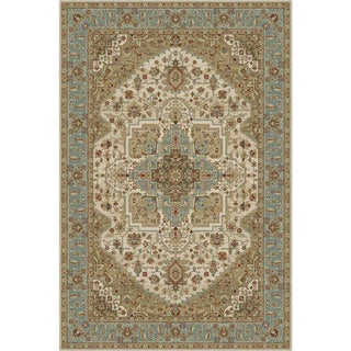 Blue Serapi Persian Rug - 8′ × 10′