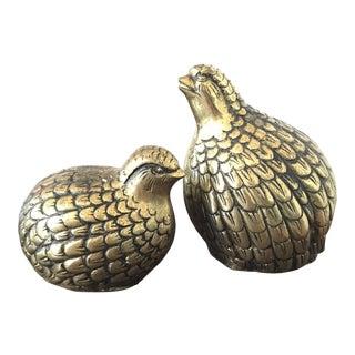 Brass Birdies - A Pair