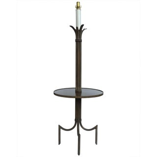 Vintage Iron Table Floor Lamp