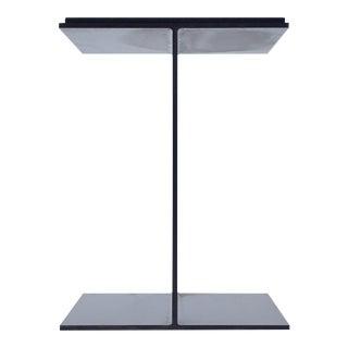 Steel I-Beam Pedestal by Don Powell and Robert Kleinschmidt