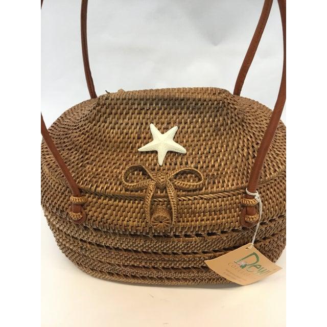 Carved Exotic Balinese Handbag - Image 4 of 6
