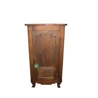 Antique French Provencal Corner Cabinet