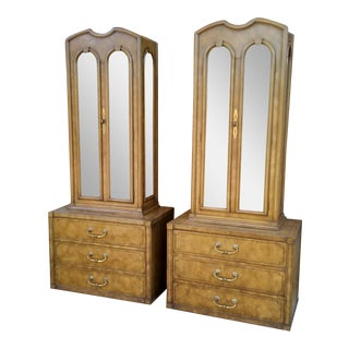 Mastercraft Regency Display Cabinets - A Pair