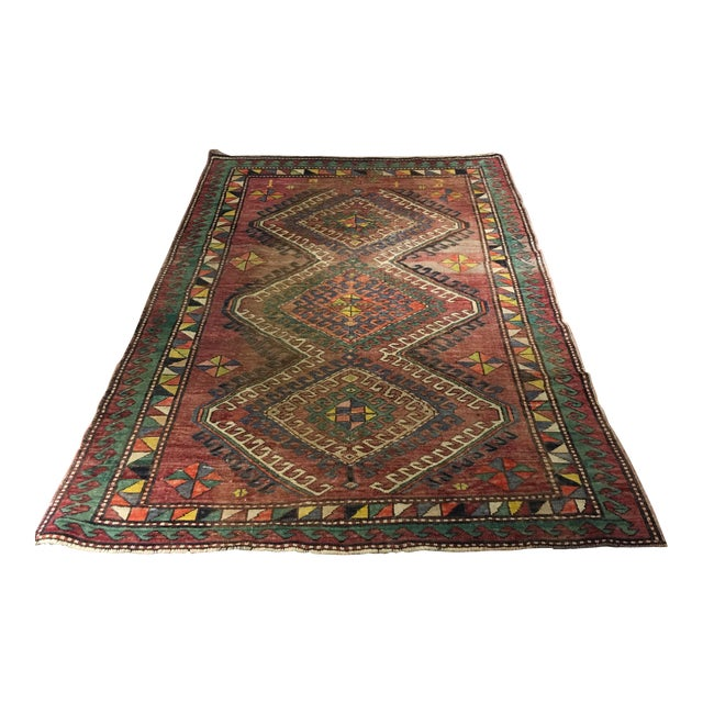 "Vintage Bellwether Rugs Turkish Oushak Rug - 5' x 9'3"" - Image 1 of 10"