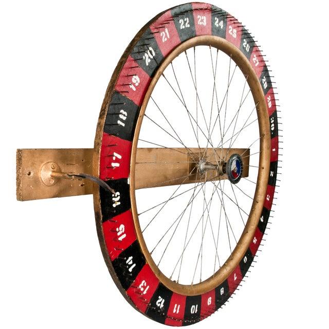 Vintage Handmade Carnival Game Wheel - Image 2 of 4