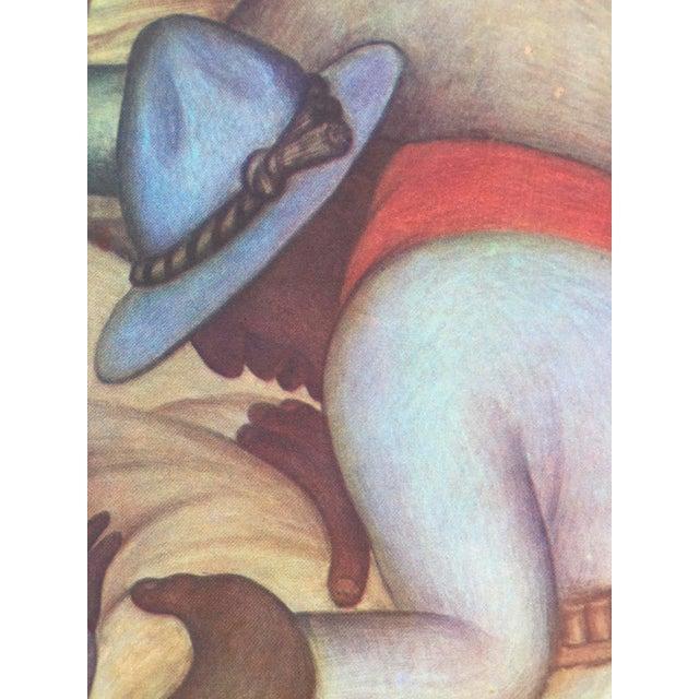 1948 Original Diego Rivera Prints - A Pair - Image 7 of 11