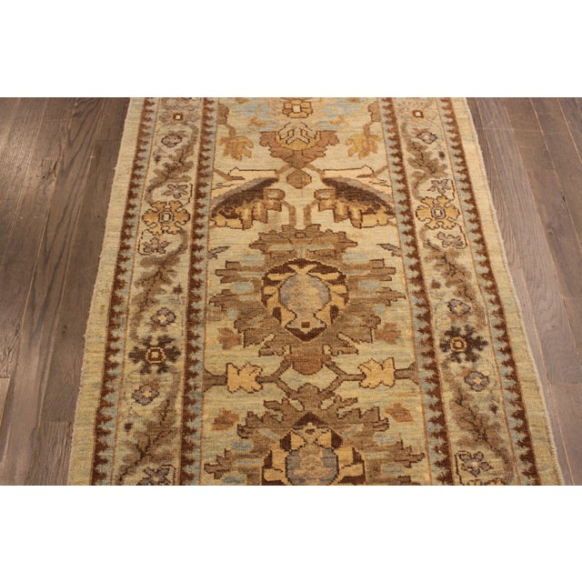 "Persian Sultanabad Rug - 3'2"" x 13'9"" - Image 6 of 10"