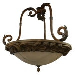 Image of Large Tuscan Style Dome Italian Chandelier