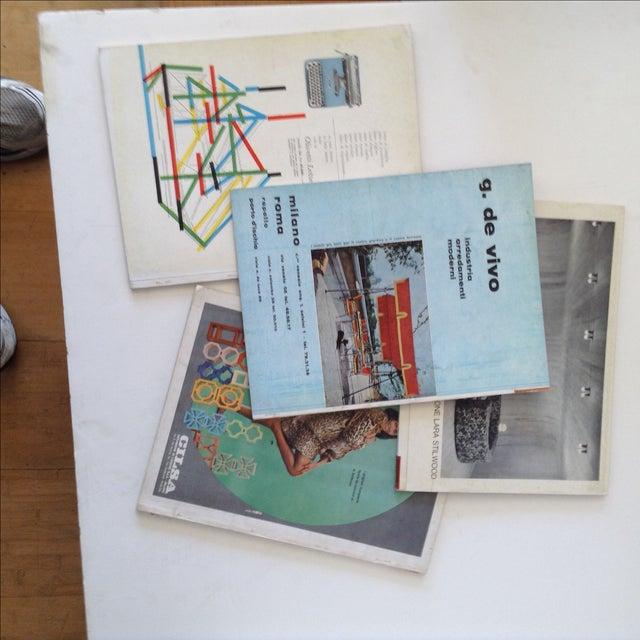 Mid-Century Domus Magazines- Set of 4 - Image 3 of 6