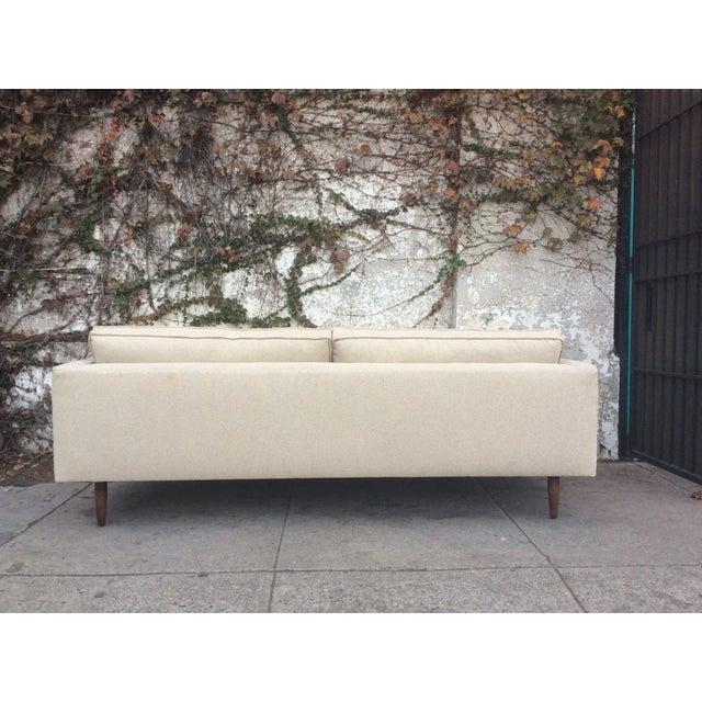 Cream Mid-Century Sofa - Image 4 of 5