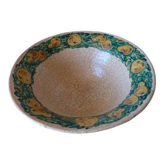 Vintage Italian Majolica Bowl