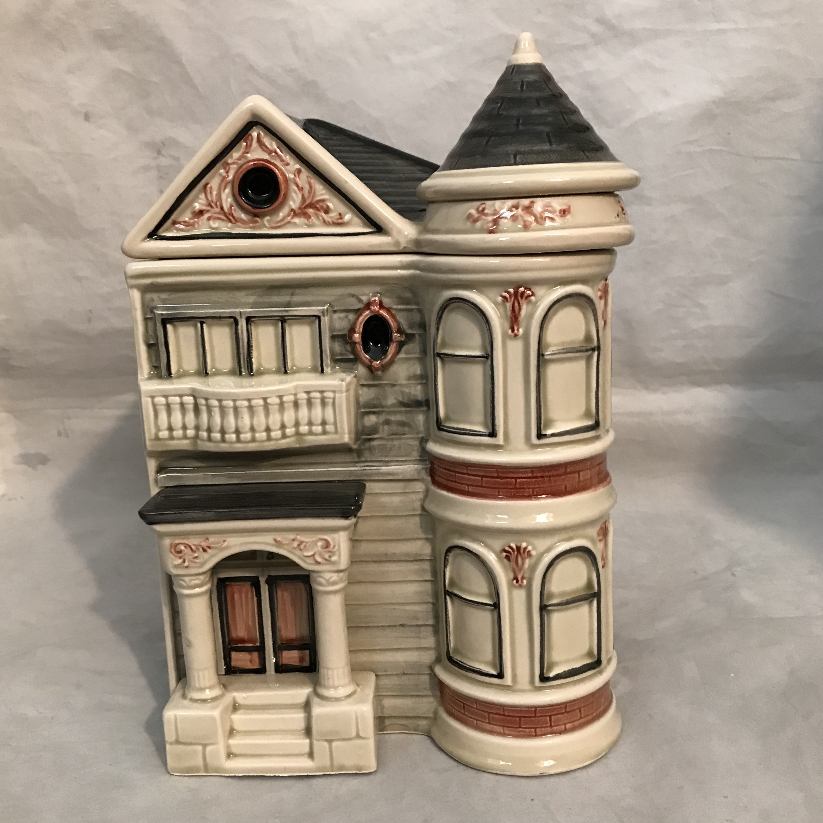 San Francisco Victorian Row House Cookie Jar   Image 2 Of 8