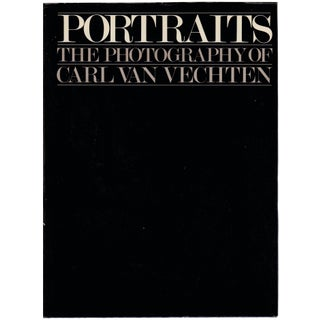 """The Photography of Carl Van Vechten"" Hardcover Book by Saul Mauriber"