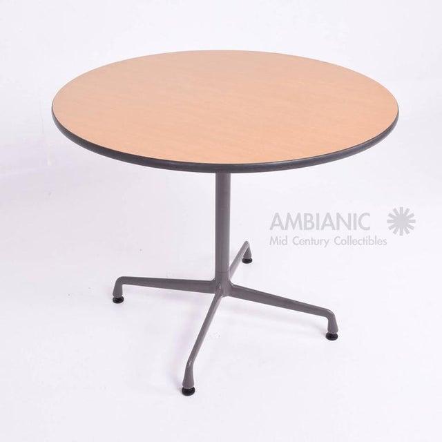 High end herman miller eames aluminum group table decaso - Eames table herman miller ...
