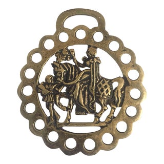 Vintage Classical Brass Harness Ornament