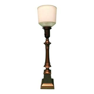 Neoclassical Columnar Table Lamp
