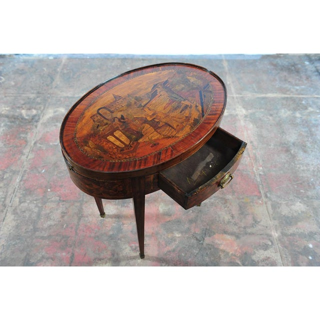 18th Century Oval Revolving Game Table - Image 9 of 10