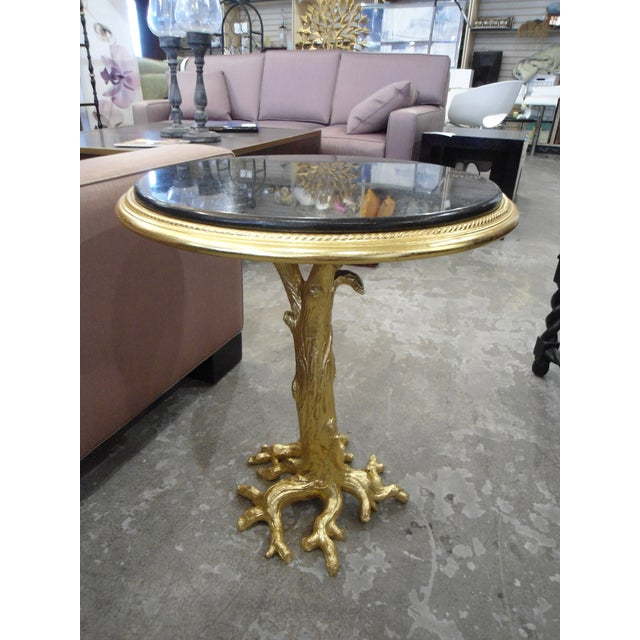 Gold Leaf Root Side Table - Image 6 of 10
