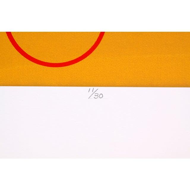 Circular Biomorphism Print by T. Confer, 1975 - Image 4 of 6
