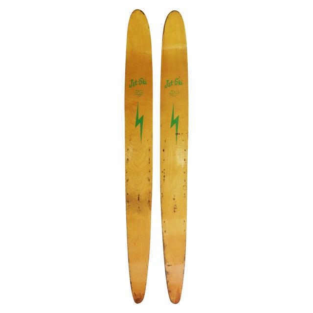 Image of Jet-Ski Wooden Water Skis