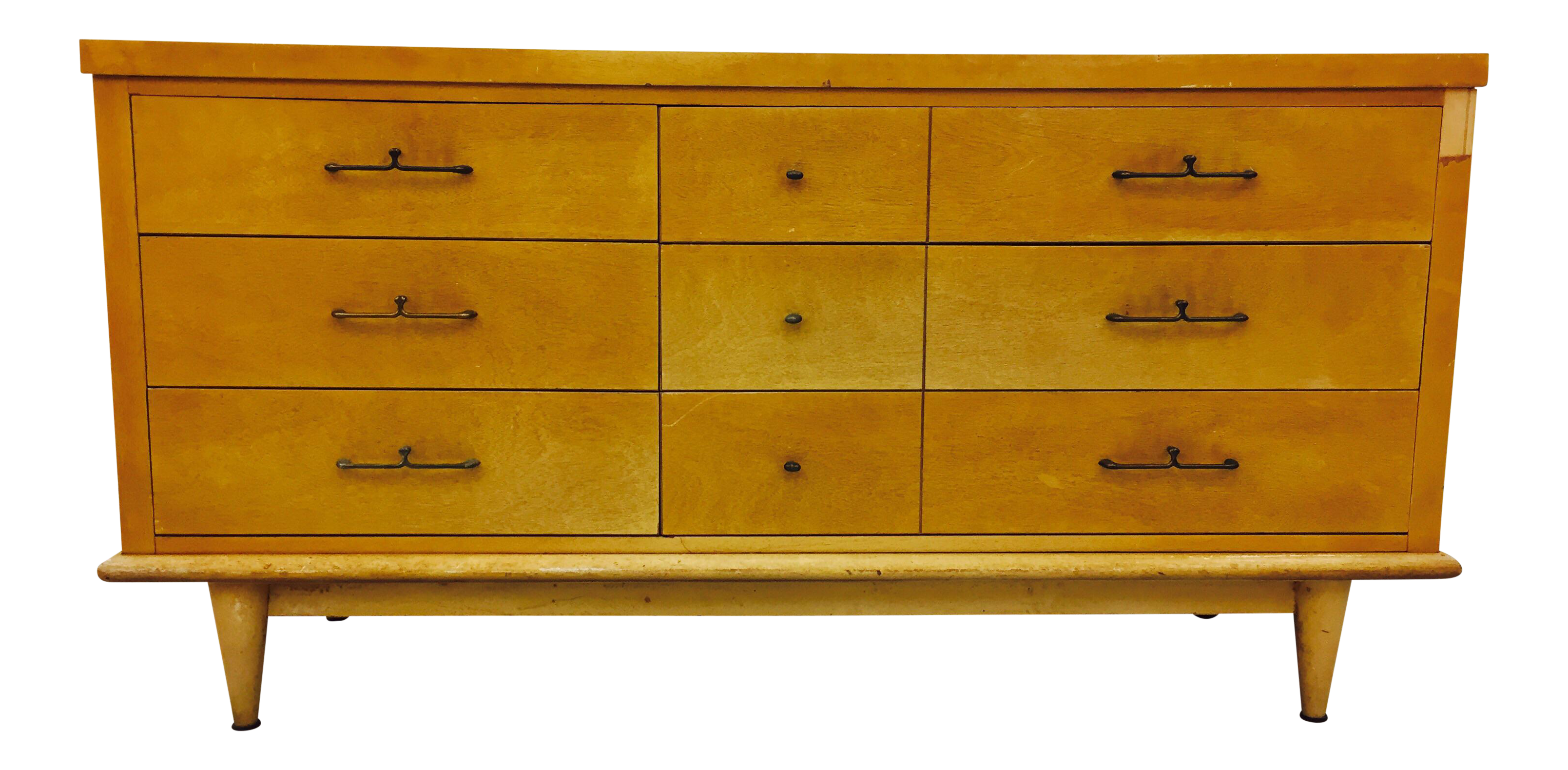 Vintage Dixie Furniture Mid Century Dresser