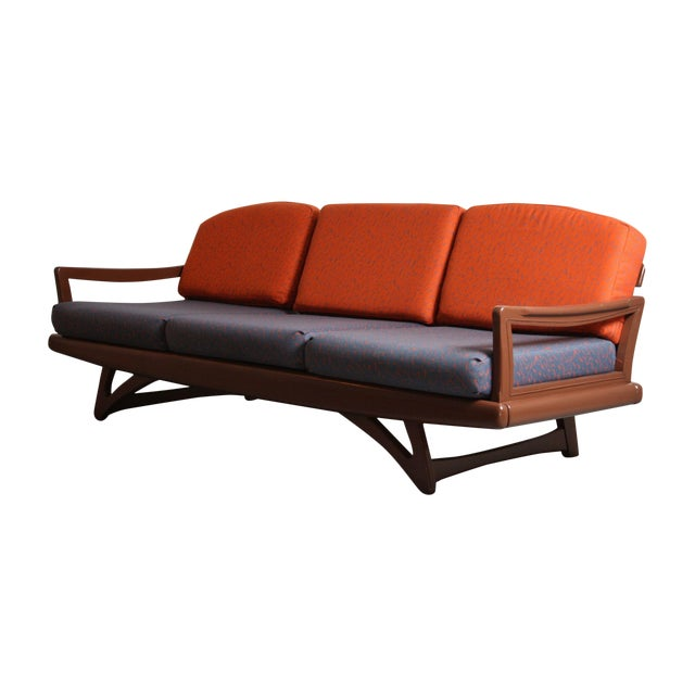 Mid-Century Modern Danish Sofa - Image 1 of 6