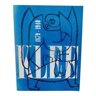 1976 Vintage Paul Klee Catalog