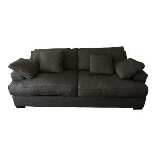 Ainsley Fabric Sofa & 4 Toss Pillows