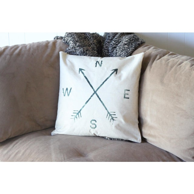Compass Pillow Cover - Image 2 of 4