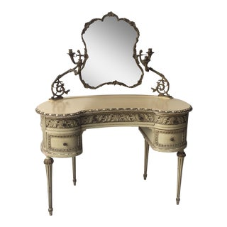 Louis XVI Vintage French Vanity