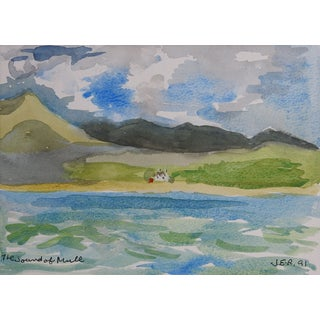 Coast of Scotland Watercolor