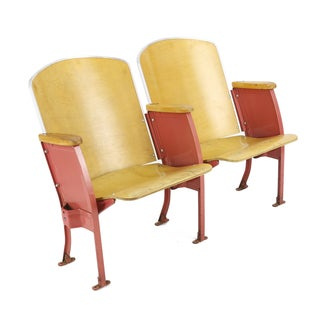 High School Auditorium Folding Seats - Pair