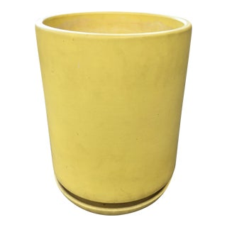 Gainey Ceramics Yellow Planter