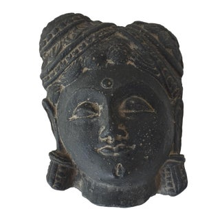 Vintage Stone Buddha Head