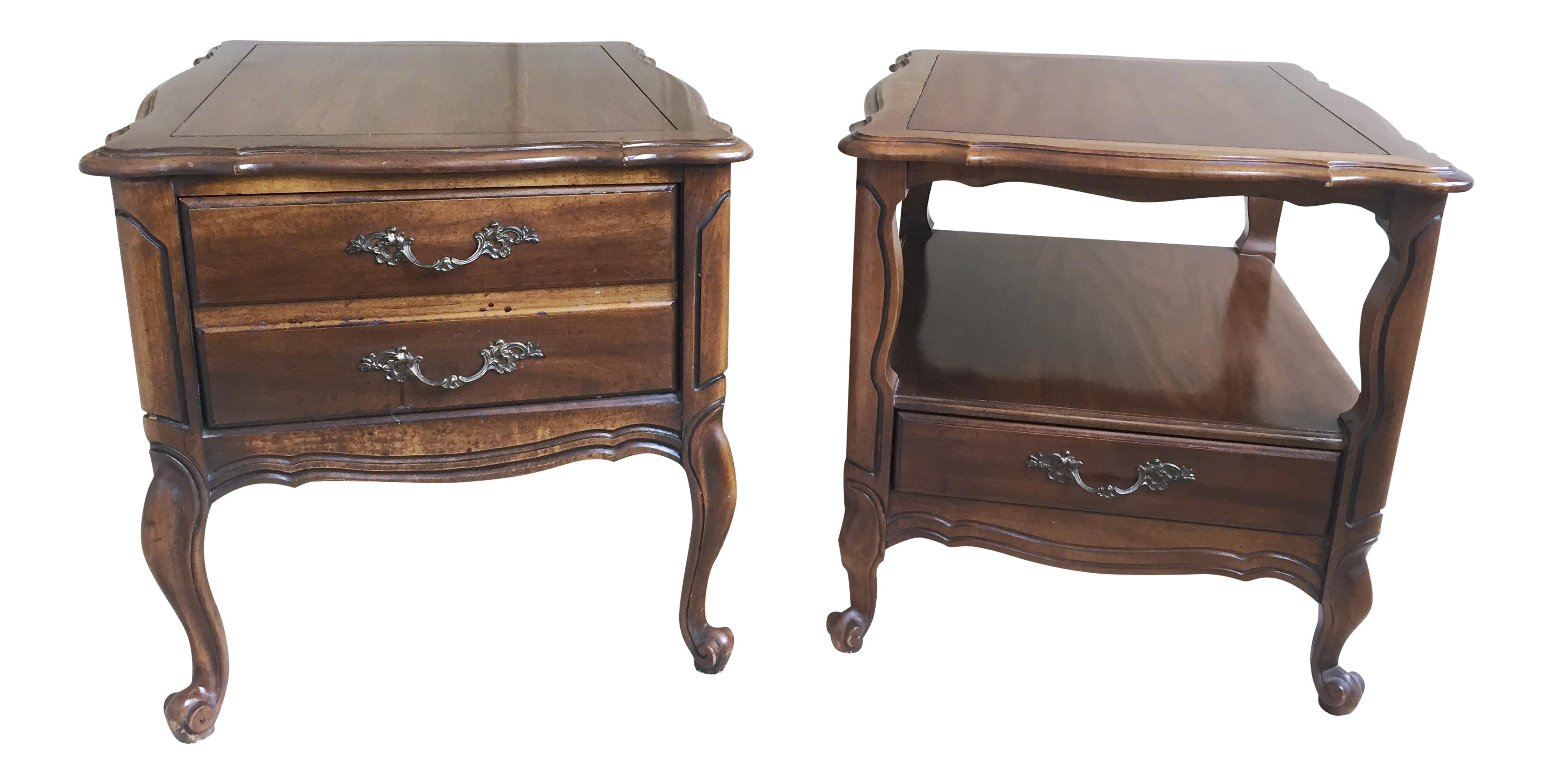 Vintage Hammary End Tables  Set Of 2   Image 1 Of 5