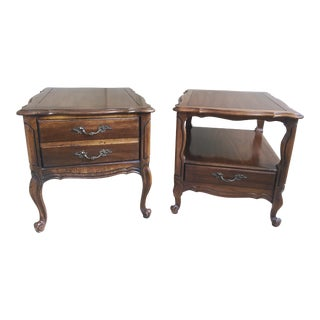 Vintage Hammary End Tables- Set of 2
