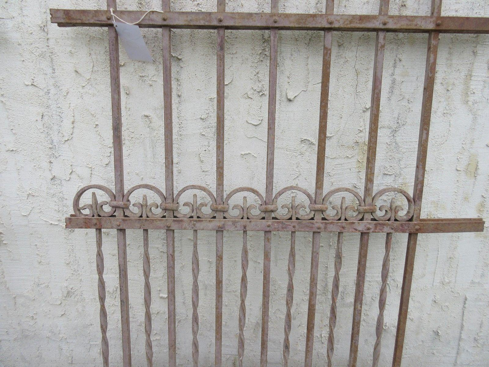 Antique Victorian Garden Fence Salvage   Image 4 Of 6