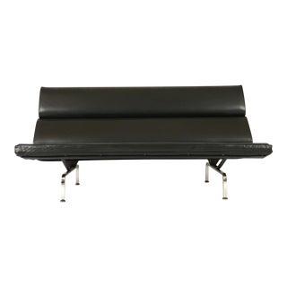 Herman Miller Eames Convertible Naugahyde Compact Sofa