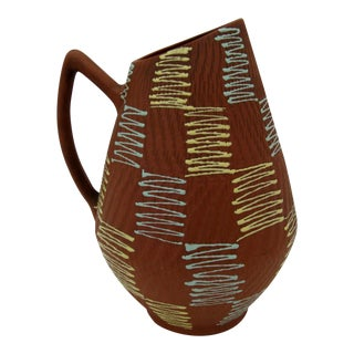 Eckhardt & Engler 1960s Ceramic Pitcher