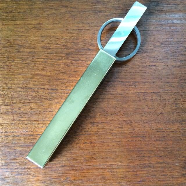 Vintage Brass Scissors and Letter Opener Set - Image 2 of 9