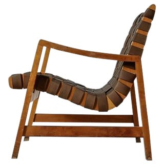 Jens Risom Model 652 Webbed Lounge Chair for Knoll, USA, 1940s