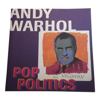 """Andy Warhol: Pop Politics"" Book"