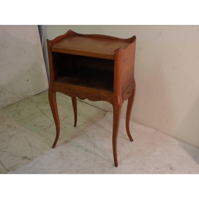 Image of French Cherry Shadow Box Nightstand