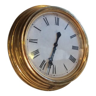 Antique Giltwood Clock