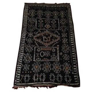 Antique Berber-Style Moroccan Rug