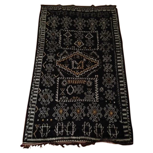 Antique Berber-Style Moroccan Rug - Image 1 of 5