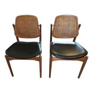 Arne Vodder for France & Daverkosen Model Fd 185 Side Chairs
