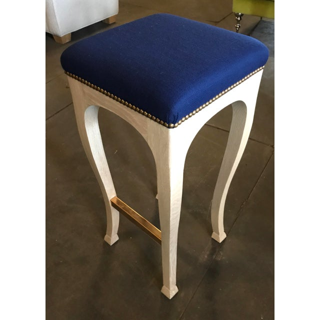 """Truex American Furniture """"Golden Gate"""" Bar Stool (Pair Available) - Image 6 of 6"""